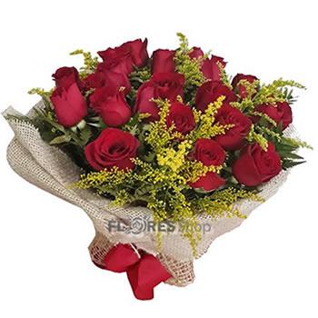1254 Amo Rosas Vermelhas