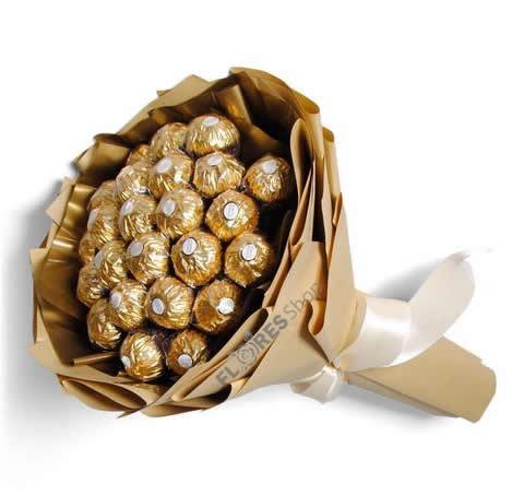 1746 Que Delicia... Buquê Ferrero Rcoher