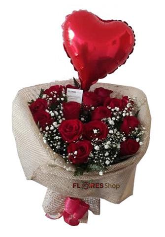 1803 Amo Rosas Vermelhas e ❤