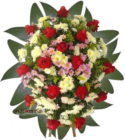 1825 Coroa Flores Para Velório