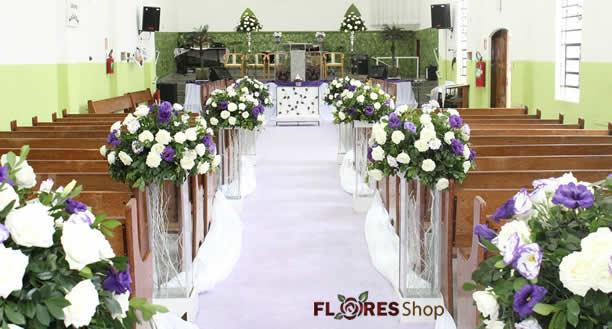 2376 Decoração Casamento Igreja I