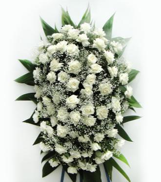 2830 Coroa de Rosas Brancas