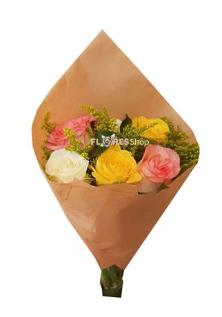 2992 Rosas coloridas