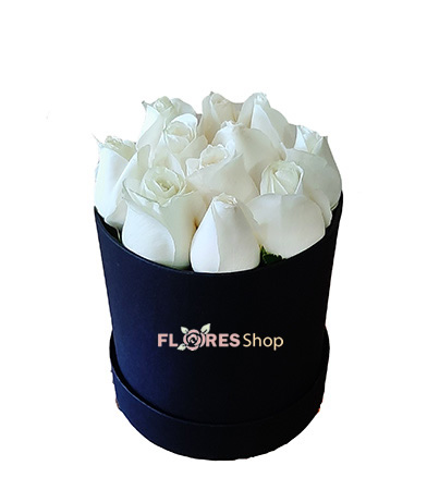 3291 Flower box white