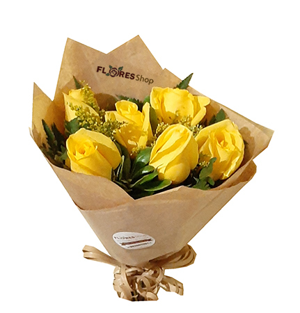 3868  Yellow roses