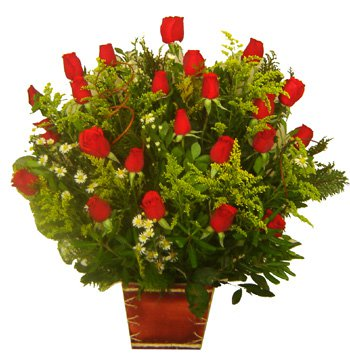 396 Arranjo Com 24 Rosas