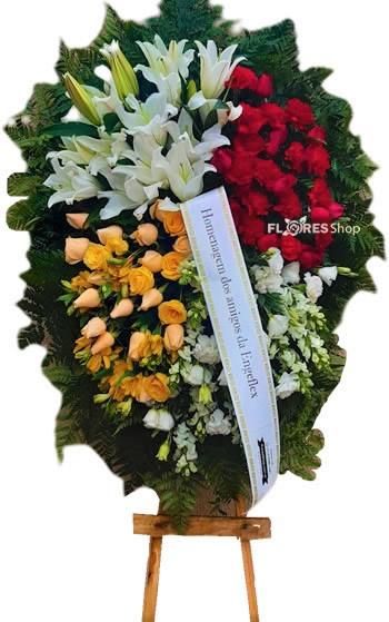 4033 Coroa de flores O Florista