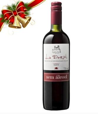4085 Vinho s/ álcool Tinto Suave - La Dorni - 720ml