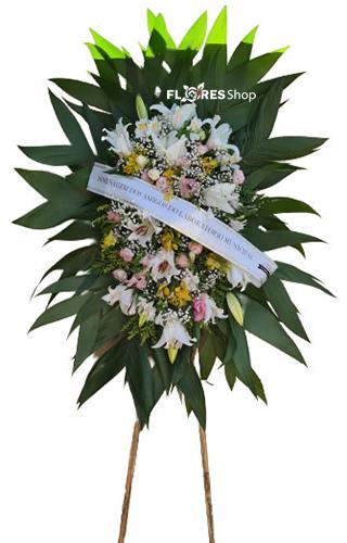 4654 Coroa de flores especial