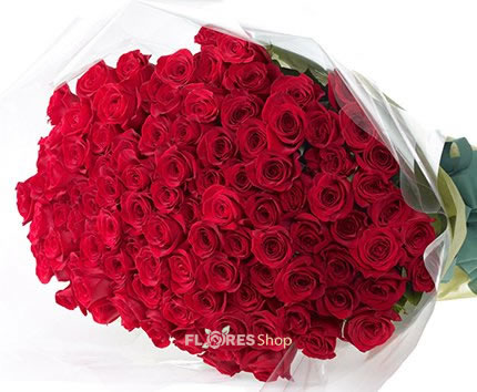 506 Ualll...100 Rosas Nacionais Vermelhas