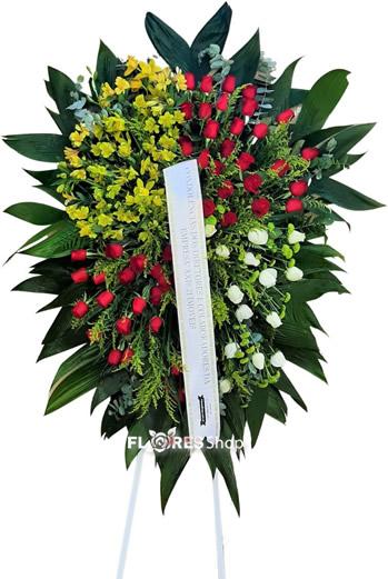 5077 Coroa de Flores  Emoção
