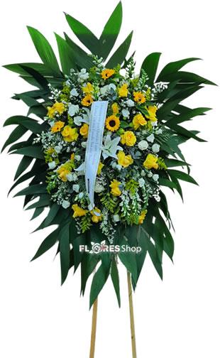 5081 Coroa de Flor Natureza