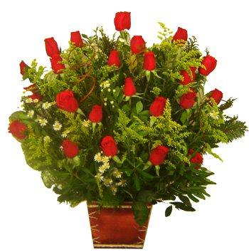 742 Arranjo Com 24 Rosas