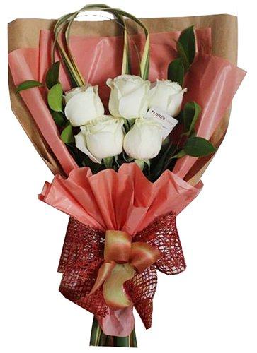 827 Mini Ramalhete Rosas